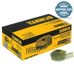 Dewalt 1-1/4 inch Galvanized Roofing Coil Nails 7200 Pack Na