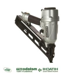 Hitachi 15 Gauge 30-Degree Finish Nail Gun Construction Work