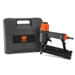 WEN 18-Gauge 2-Inch 2-in-1 Pneumatic Brad Nailer and Stapler