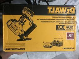 Dewalt 18gauge 20volt Battery floor stapler.     BRAND NEW