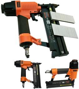 2In1 Air Pneumatic Staplers Staple Gun Upholstery Wire Frami