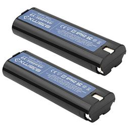 Exmate 2 Pack 6V 3.5Ah Ni-MH Battery Compatible with Paslode