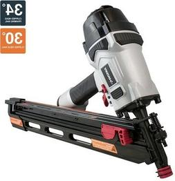 Husky 34? Corded Pneumatic Clipped Head Framing Nailer Nail