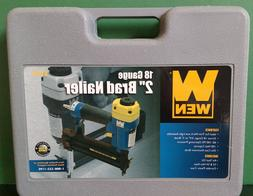 WEN 61720 3/4-Inch to 2-Inch 18-Gauge Brad Nailer ~ NEW SEAL