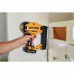 BOSTITCH BCN680B 20V MAX 18 Gauge Cordless Brad Nailer