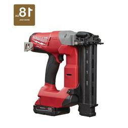 Milwaukee Brad Nailer Kit Air Nail Gun Cordless M18 Battery