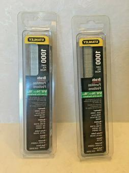 """stanley brads 1000 piece set of two packages 9/16"""" 18gauge"""