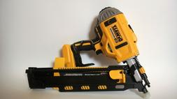 BRAND NEW DEWALT 21-DEGREE 20V FRAMING NAILER CORDLESS NAIL