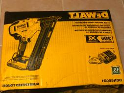 🌟 BRAND NEW DEWALT DCN650D1 20V 15 GA Angled Finish Naile