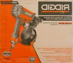 RIDGID 15 Degree 1-3/4 in. Coil Roofing Air Tool Nailer Fast
