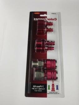 ColorConnex Coupler & Plug Kit , Industrial Type D, 1/4 in.