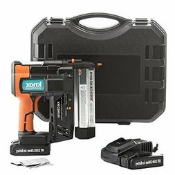 Cordless Air Finish Nail Gun Nailer Tool Kit with Charger 18
