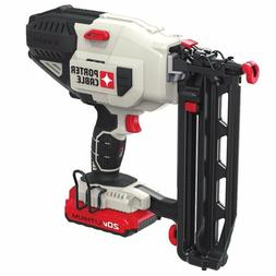 16Ga Straight Finish Nailer Gun Cordless Fastener Power Tool