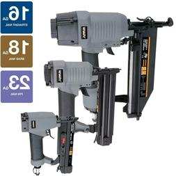 Cordless Nailer Kit 3 Piece Finish Brad PIn Nailers Air Tool