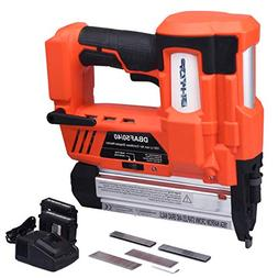 BHTOP Cordless Nailer & Stapler- 2 in 1 18Ga Heavy Tool With