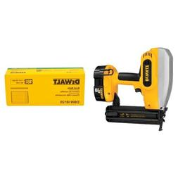 DEWALT DC608K 18-Volt 18-Gauge 2-Inch Brad Nailer Kit with H