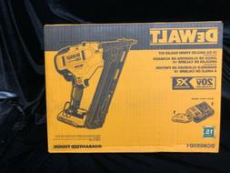 Dewalt DCN650D1 15GA Angled Finish Nailer Kit BRAND NEW
