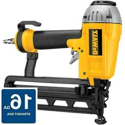 DeWALT D51257K 16 Gauge Finisher Nailer Air Nail Gun Tool &