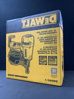 DEWALT DW66C-1 15 Degree Coil Siding And Fencing Nailer - *N