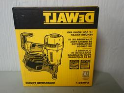 Dewalt DW66C-1 Pneumatic 15-Degree Coil Siding & Fencing Nai