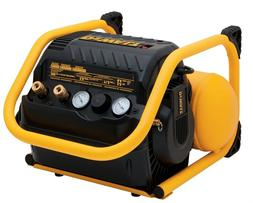 Dewalt DWFP55130 2.5 Gallon 200 PSI Oil-Free Quiet Trim Heav