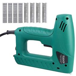 FIXKIT Electric Staple/Brad Nail Gun Hand Tacker Flooring Fr