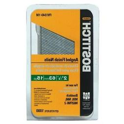 BOSTITCH FN1540-1M 2-1/2-Inch 15-Gauge FN Style Angled Finis