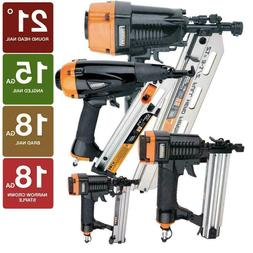 Framing Finish Brad Nailer Stapler Kit Air Nail Gun Aluminum