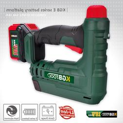 KGB Adjustable Cordless Electric Staple <font><b>Gun</b></fo