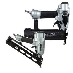 Hitachi KNT65-50 2-Piece Angled Finish Nailer & Brad Nailer