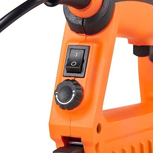 VonHaus 2 1 Electric Brad Nailer and Stapler - Includes Staples and Suitable and Cardboard