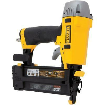 Dewalt 18 Gauge Pneumatic Air Compressor 2 inch Brad Nailer