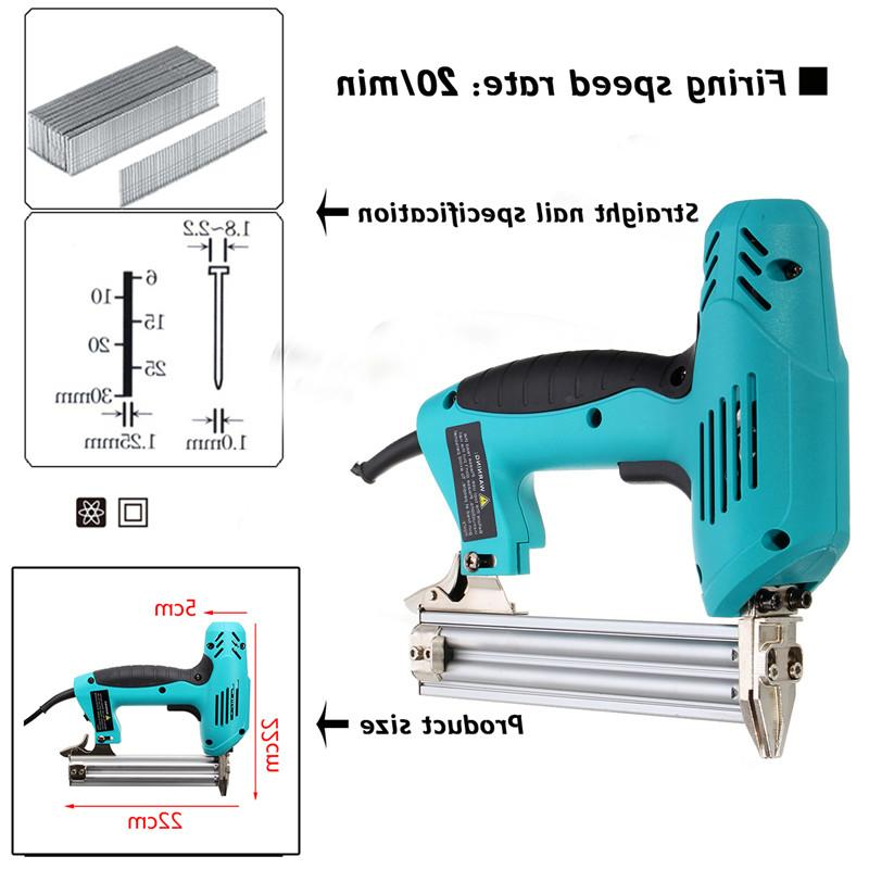 220V 1800W Staple <font><b>Gun</b></font> Special Use 30/min Tool Straight Gas