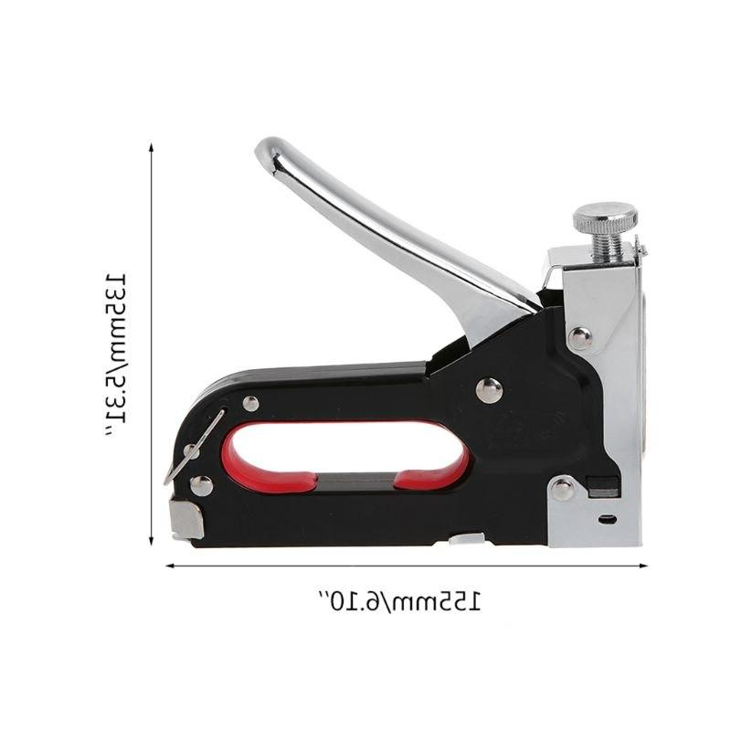 3 Way Duty Tacker With For Wood Door Furniture <font><b>Finishing</b></font> Tools