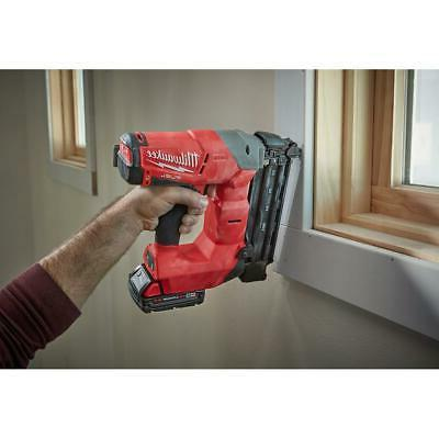 Milwaukee Brad Kit M18 Nail Gun Jobsite