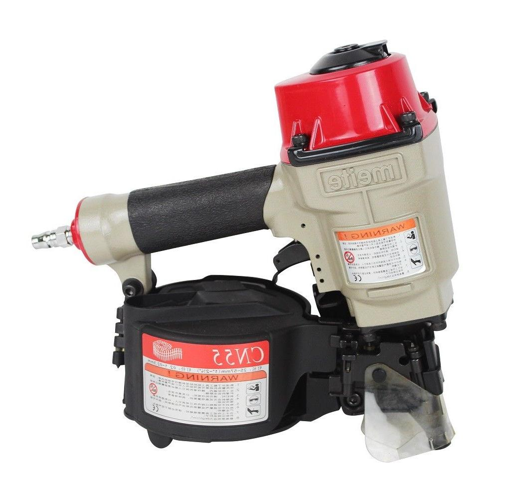 meite CN55 15 Degree Industrial Coil Nailer Coil Siding Nail
