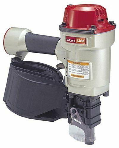 Max CN70 1-3/4-Inch to 2-3/4-Inch Heavy Duty Coil Nailer for