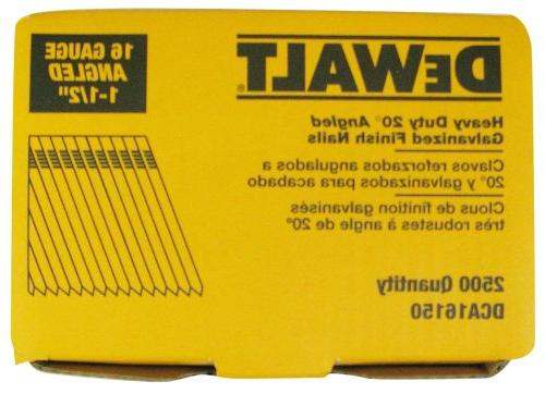 DEWALT 16 Gauge 20-Degree Nail