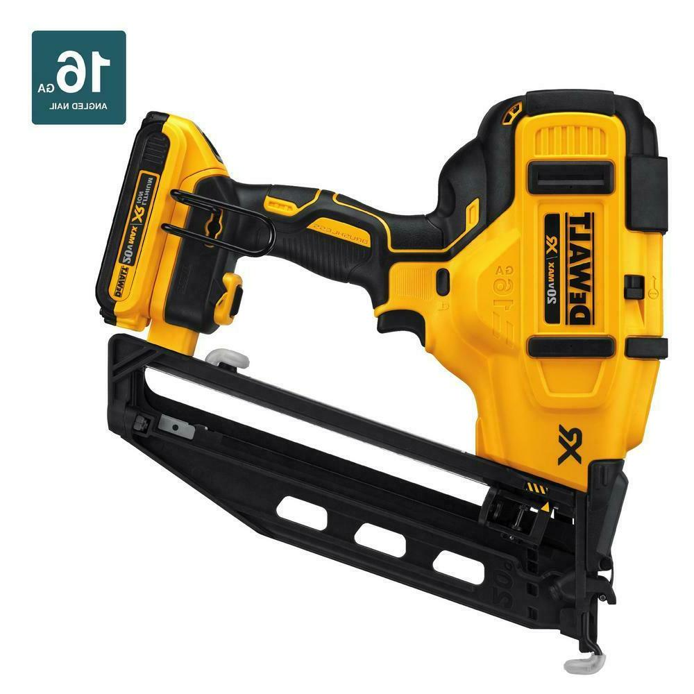 DEWALT DCN660D1 Max 16-Gauge Finish