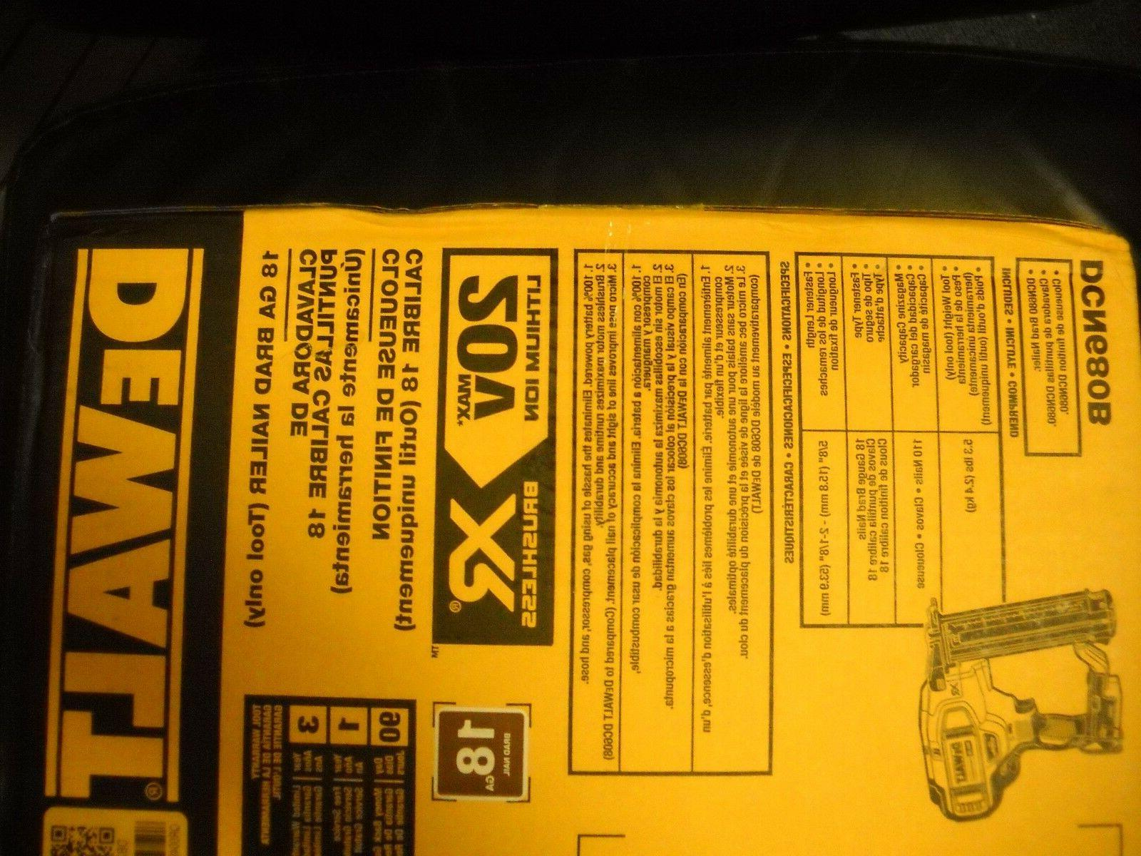 XR 18 Nailer Tool Only
