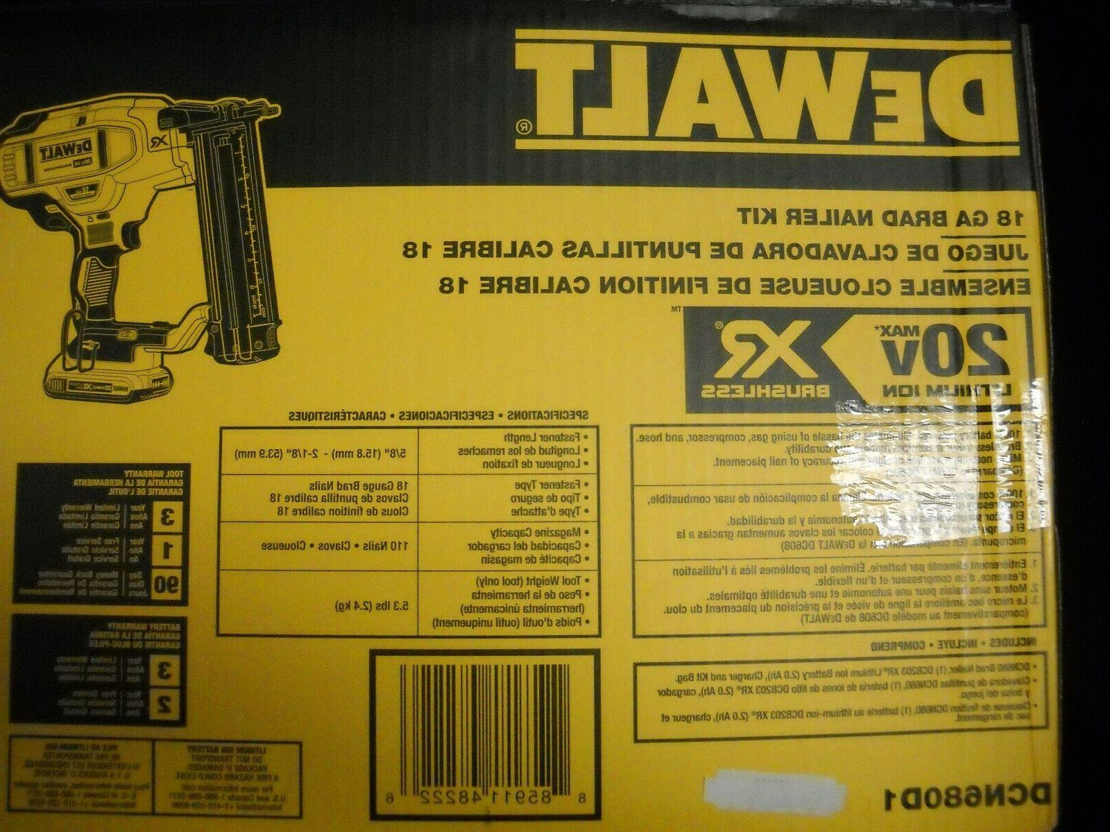 DeWALT Nailer Kit NEW