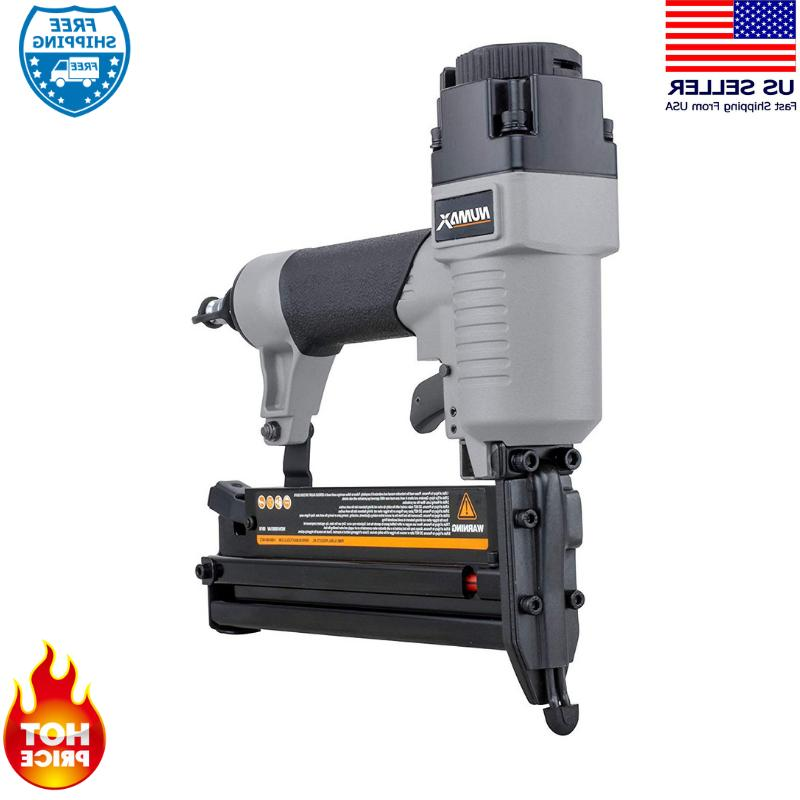 Finish Nail Gun Brad Nailer Woodworking Air Pneumatic Tools