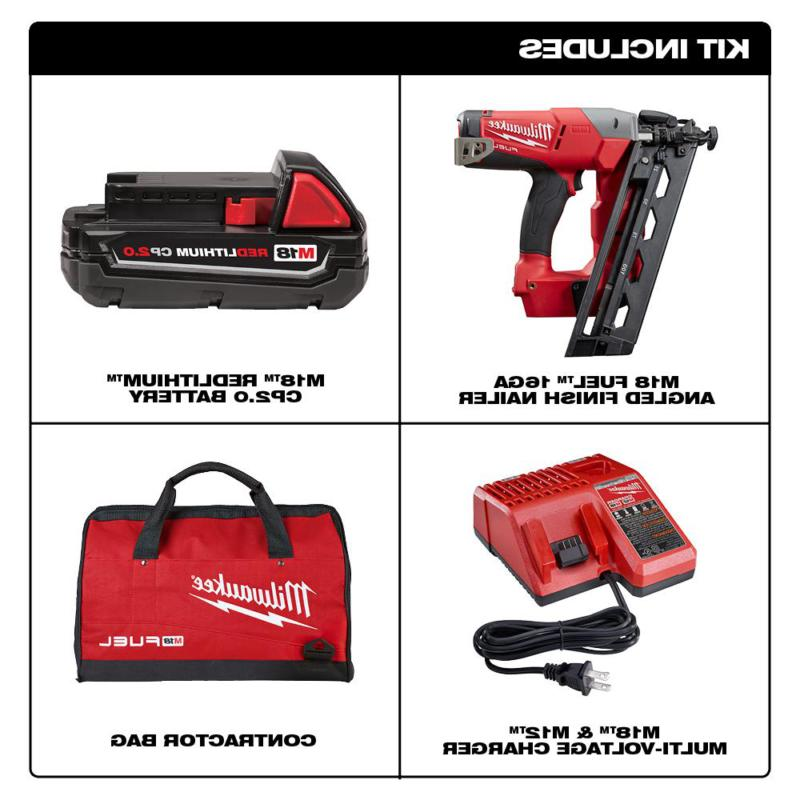 Milwaukee Finishing 18-Volt Lithium-Ion Charger
