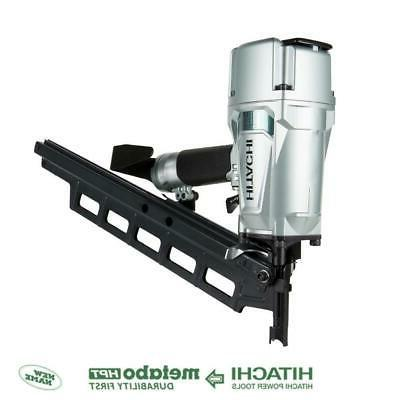 Hitachi Framing Nail Gun Power Tool 3.25-Inch 21-Degree 120-