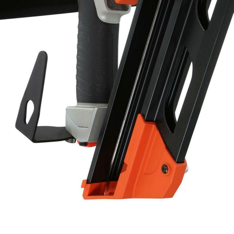 Paslode Framing Nailer Pneumatic Reversible Belt Hook Compact 30 Degree