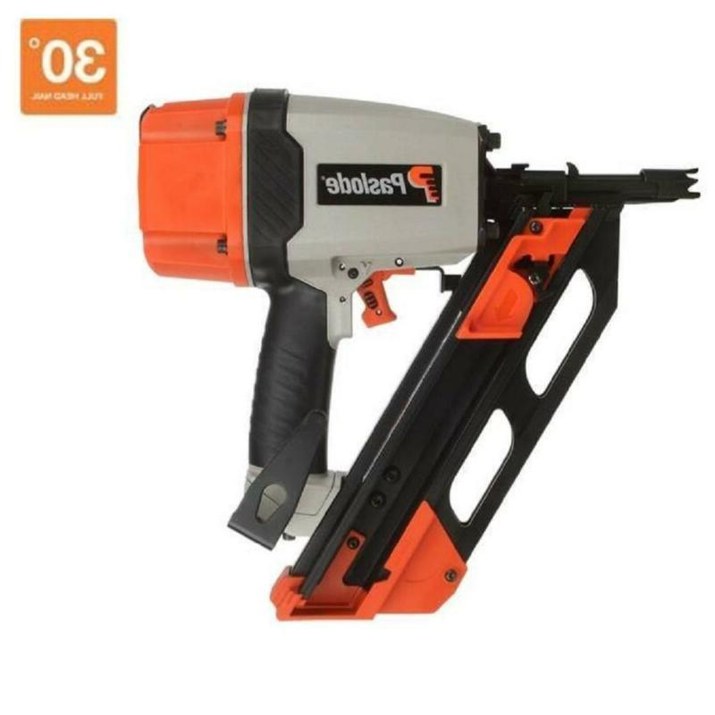 framing nailer pneumatic reversible belt hook compact