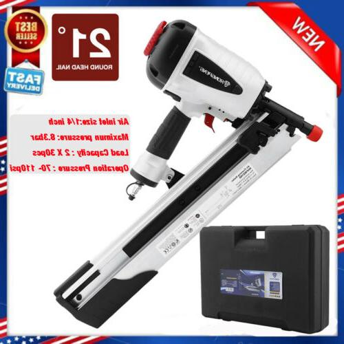 21 Degree Pneumatic Head Framing Nailer Tool