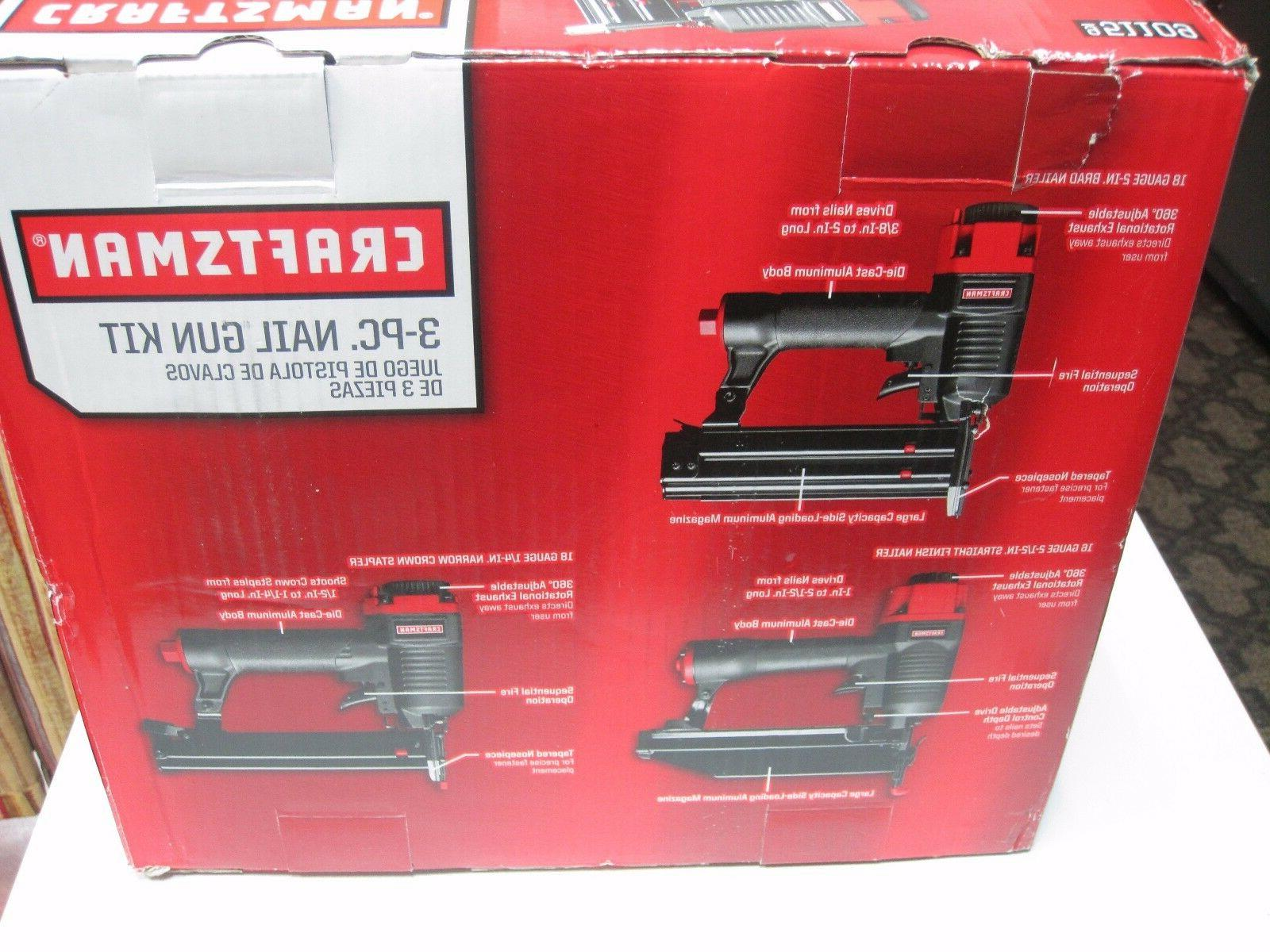 Craftsman pc Gun 951109 Stapler, Brad Finish Nailer