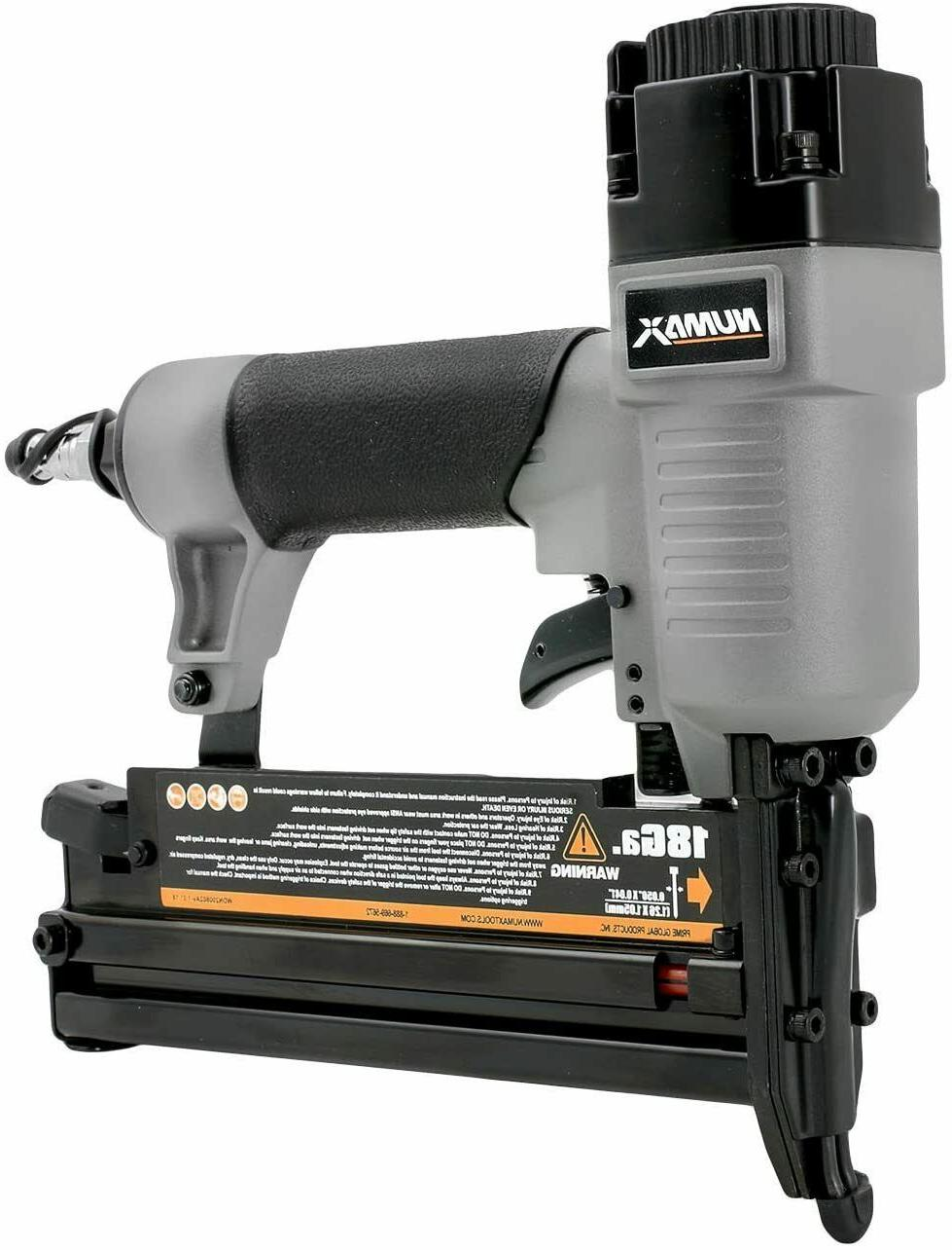 NEW Pneumatic 3-in-1 16-Gauge and 18-Gauge 2 in. Finish Nail