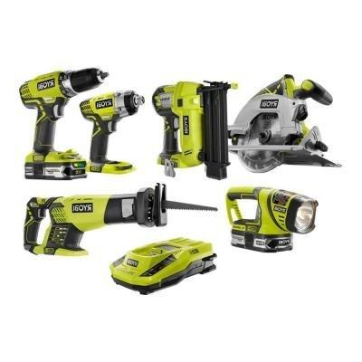 one lithium ion cordless combo